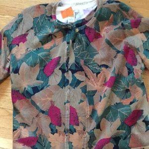 Bechamel cotton twin sweater set Large